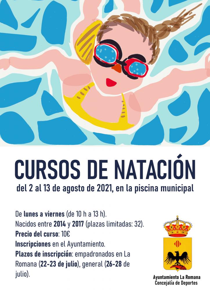 INSCRIU-TE ALS CURSOS DE NATACIÓ 2021